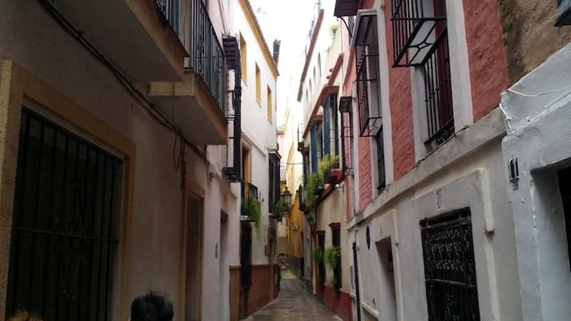Streets of the neighbourhood of Santa Cruz