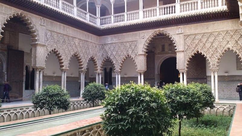Visitar los Alcazares y la Catedral de Sevilla