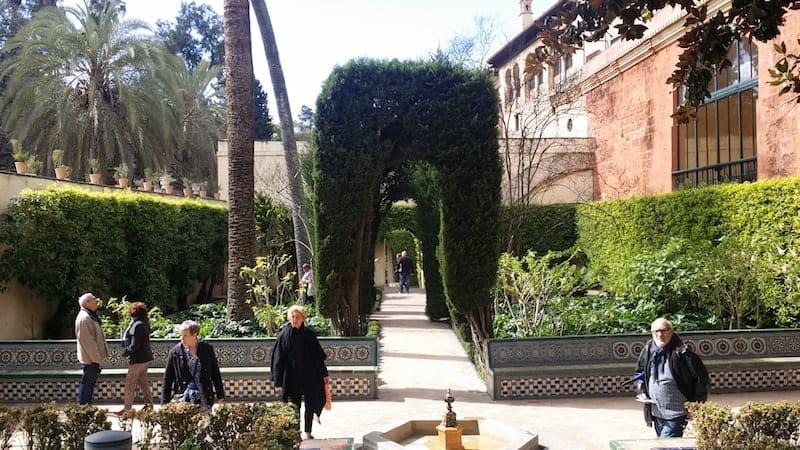 Jardines del Real Alcazar de Sevilla