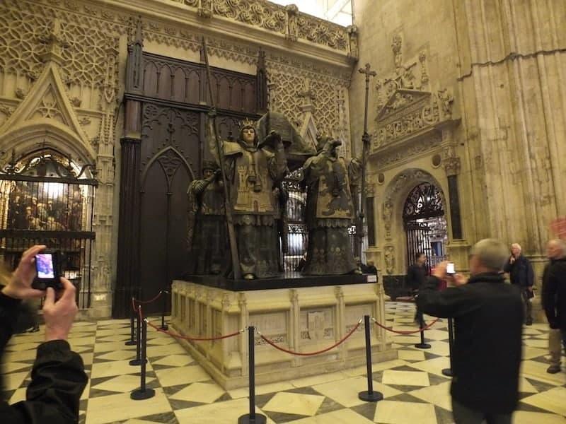 Mausoleo de Cristobal Colón