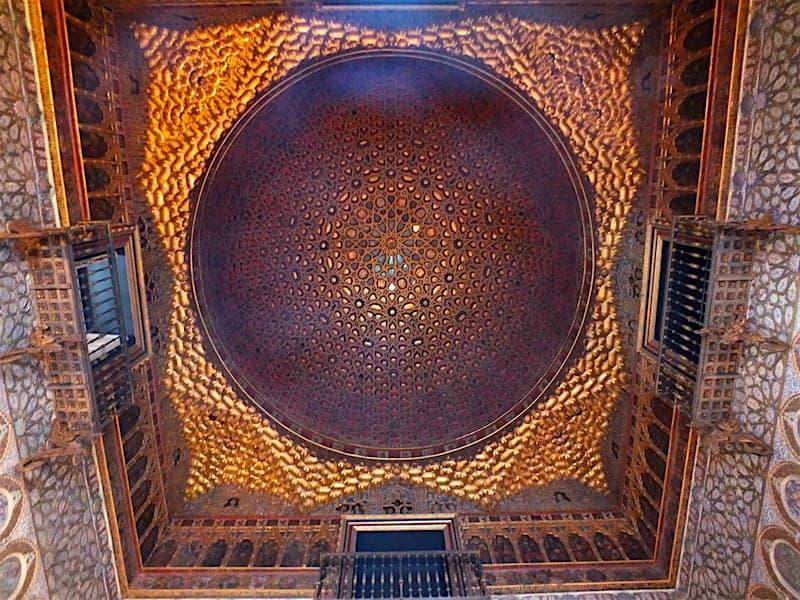 Bóveda del Palacio Mudéjar