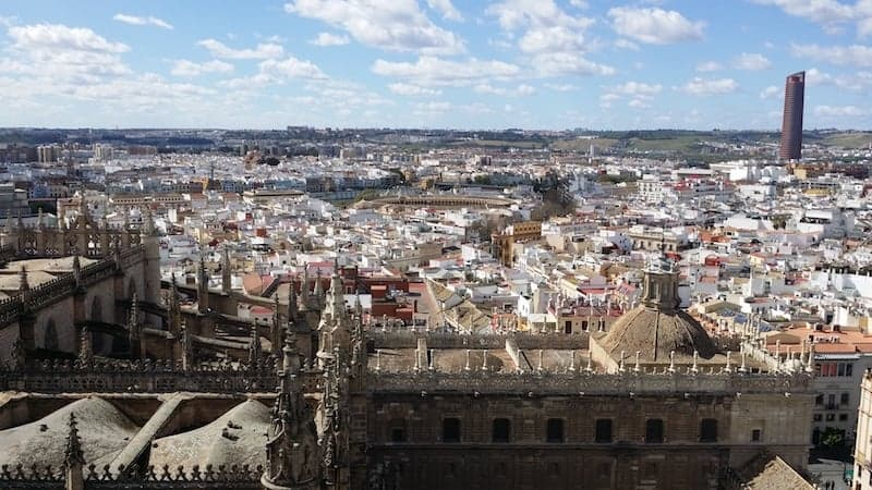 Panoramic view of Seville