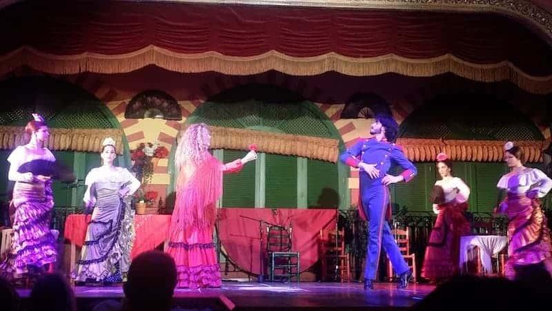Representación del fragmento de la ópera Carmen