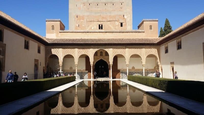 Court of Los Arrayanes