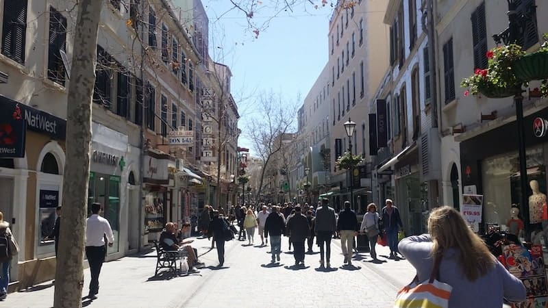 Shopping in Gibraltar