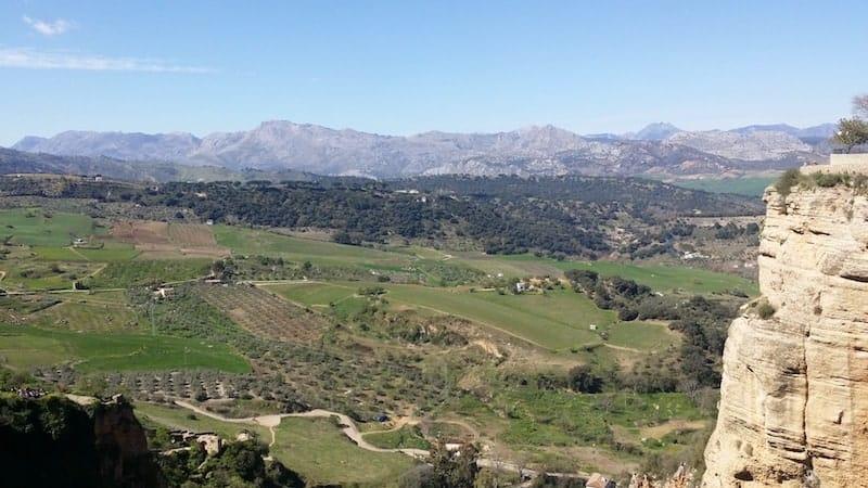 Vistas de la Sierra de Ronda