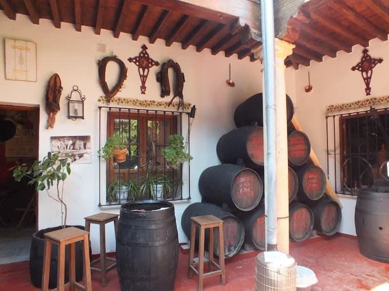 Museo del vino en Ronda