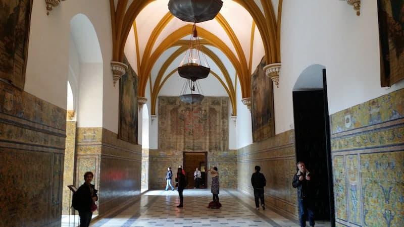 Palacio de Carlos I - tapices